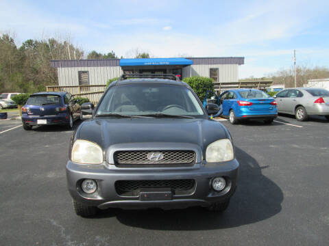 2002 Hyundai Santa Fe for sale at Olde Mill Motors in Angier NC