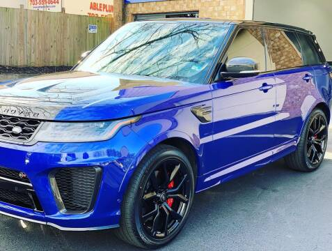 2020 Land Rover Range Rover Sport for sale at POTOMAC WEST MOTORS in Springfield VA