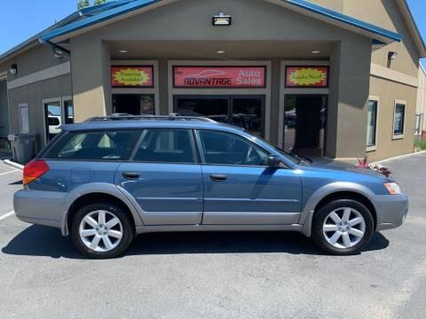 2006 Subaru Outback for sale at Advantage Auto Sales in Garden City ID