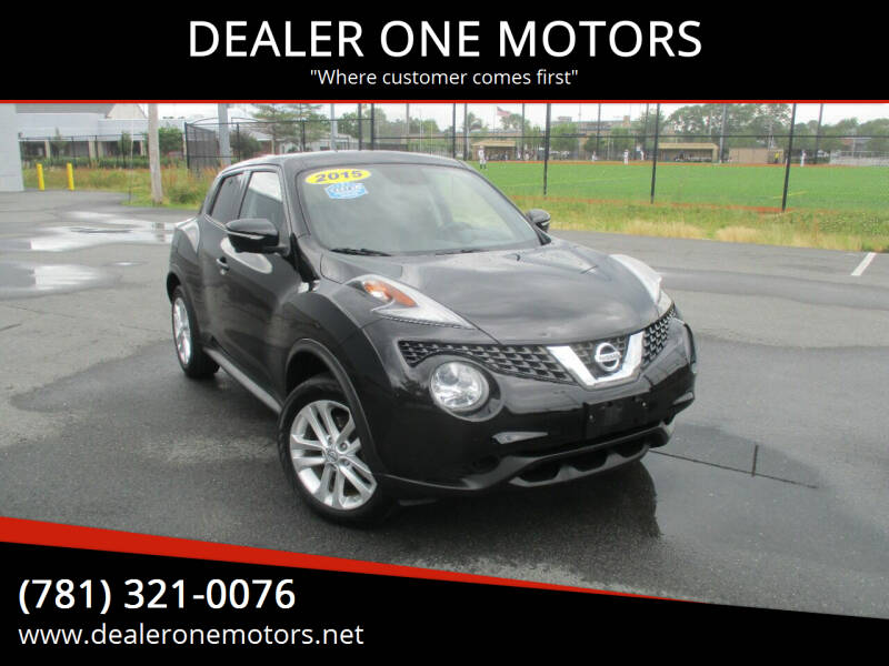 2015 Nissan JUKE for sale at DEALER ONE MOTORS in Malden MA