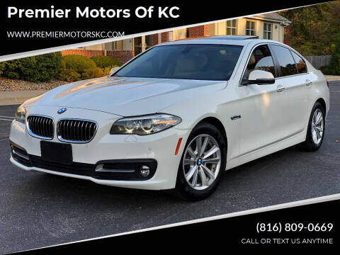2015 BMW 5 Series for sale at Premier Motors of KC in Kansas City MO