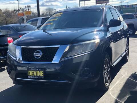 2013 Nissan Pathfinder for sale at Devine Auto Sales in Modesto CA