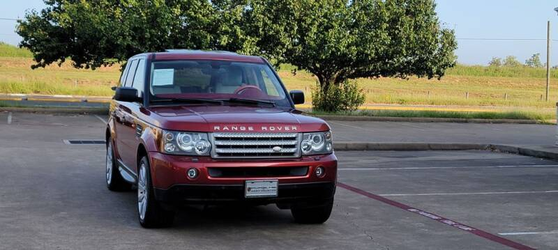 2006 Land Rover Range Rover Sport for sale at America's Auto Financial in Houston TX