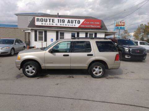 2005 Ford Explorer for sale at ROUTE 119 AUTO SALES & SVC in Homer City PA