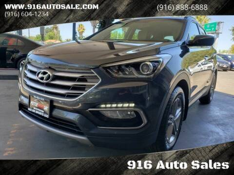 2017 Hyundai Santa Fe Sport for sale at 916 Auto Sales in Sacramento CA