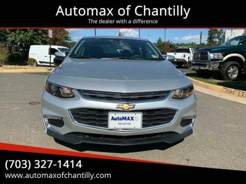 2018 Chevrolet Malibu for sale at Automax of Chantilly in Chantilly VA