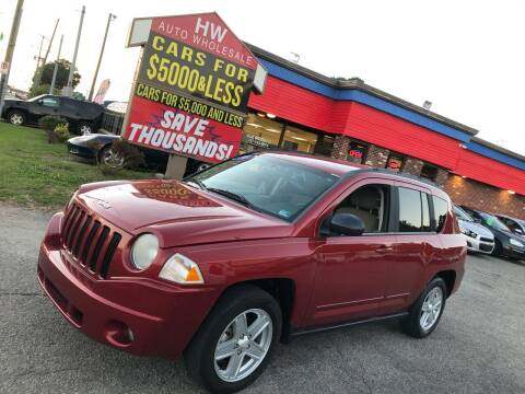 2010 Jeep Compass for sale at HW Auto Wholesale in Norfolk VA