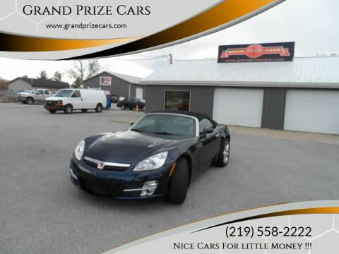 2007 Saturn SKY for sale at Grand Prize Cars in Cedar Lake IN