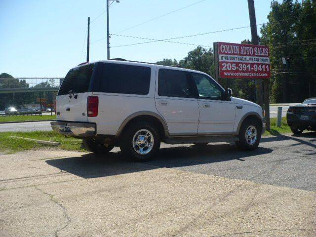 2002 Ford Expedition for sale at Colvin Auto Sales in Tuscaloosa AL