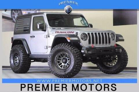 2018 Jeep Wrangler for sale at Premier Motors in Hayward CA