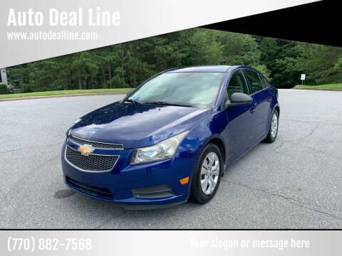 2013 Chevrolet Cruze for sale at Auto Deal Line in Alpharetta GA