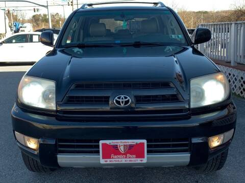2004 Toyota 4Runner for sale at Fuentes Brothers Auto Sales in Jessup MD