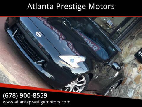 2010 Nissan 370Z for sale at Atlanta Prestige Motors in Decatur GA
