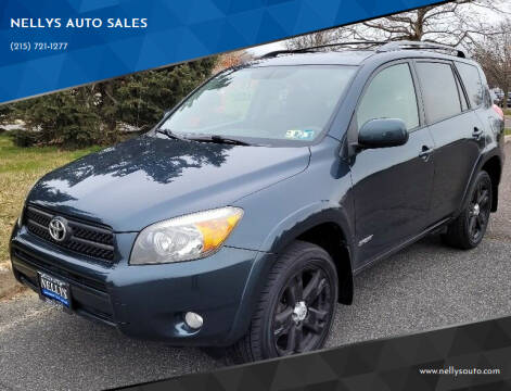 2008 Toyota RAV4 for sale at NELLYS AUTO SALES in Souderton PA