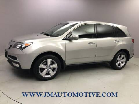 2013 Acura MDX for sale at J & M Automotive in Naugatuck CT