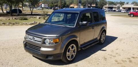 2007 Honda Element for sale at STX Auto Group in San Antonio TX