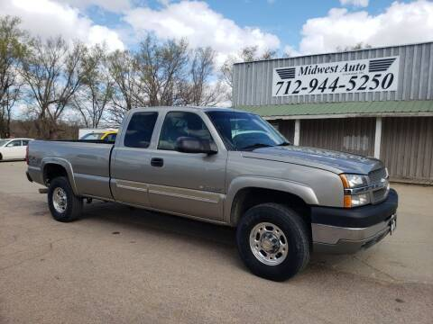 2003 Chevrolet Silverado 2500HD for sale at Midwest Auto of Siouxland, INC in Lawton IA