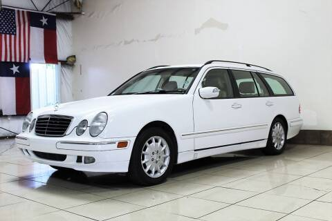 2001 Mercedes-Benz E-Class for sale at ROADSTERS AUTO in Houston TX