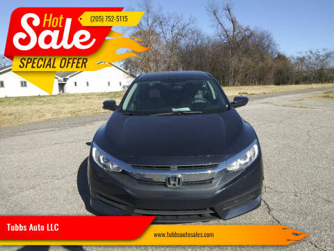 2018 Honda Civic for sale at Tubbs Auto LLC in Tuscaloosa AL