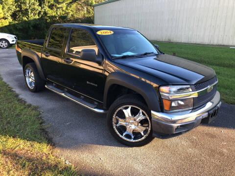 2004 Chevrolet Colorado for sale at J. MARTIN AUTO in Richmond Hill GA