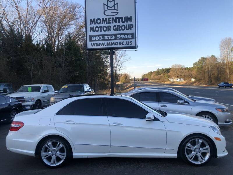 2013 Mercedes-Benz E-Class for sale at Momentum Motor Group in Lancaster SC