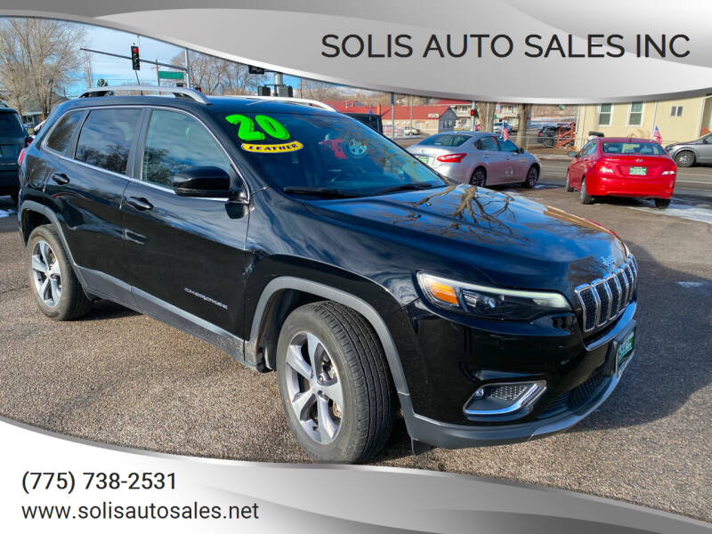 2020 Jeep Cherokee for sale at SOLIS AUTO SALES INC in Elko NV