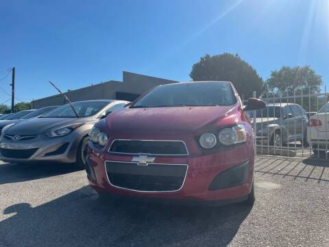 2015 Chevrolet Sonic for sale at Top Gun Auto Sales, LLC in Albuquerque NM
