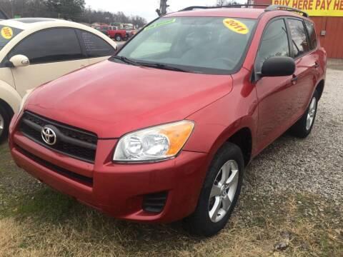 2011 Toyota RAV4 for sale at McAllister's Auto Sales LLC in Van Buren AR