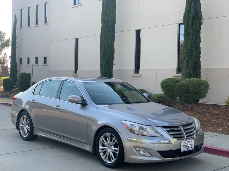 2013 Hyundai Genesis for sale at Auto King in Roseville CA