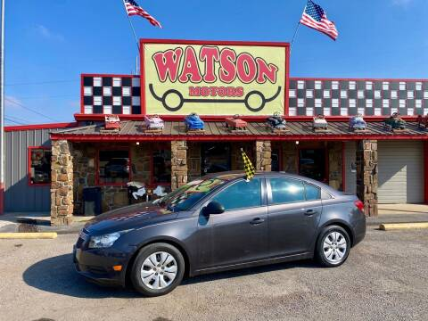 2014 Chevrolet Cruze for sale at Watson Motors in Poteau OK