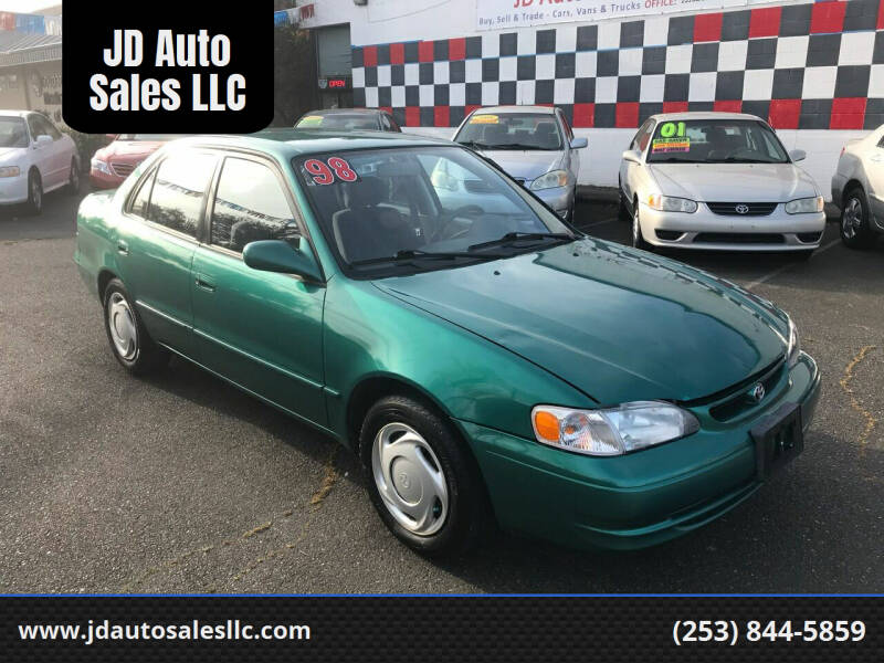 1998 Toyota Corolla for sale at JD Auto Sales LLC in Fife WA