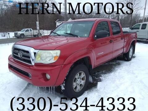 2010 Toyota Tacoma for sale at Hern Motors - 2021 BROOKFIELD RD Lot in Hubbard OH