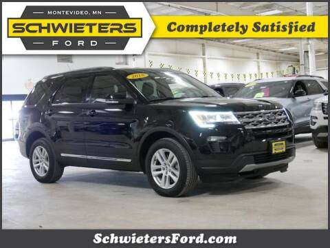 2018 Ford Explorer for sale at Schwieters Ford of Montevideo in Montevideo MN