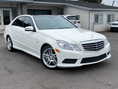 2012 Mercedes-Benz E-Class for sale at Lux Motors in Tacoma WA