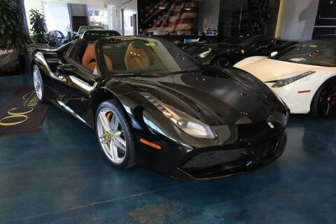 2017 Ferrari 488 Spider for sale at OC Autosource in Costa Mesa CA