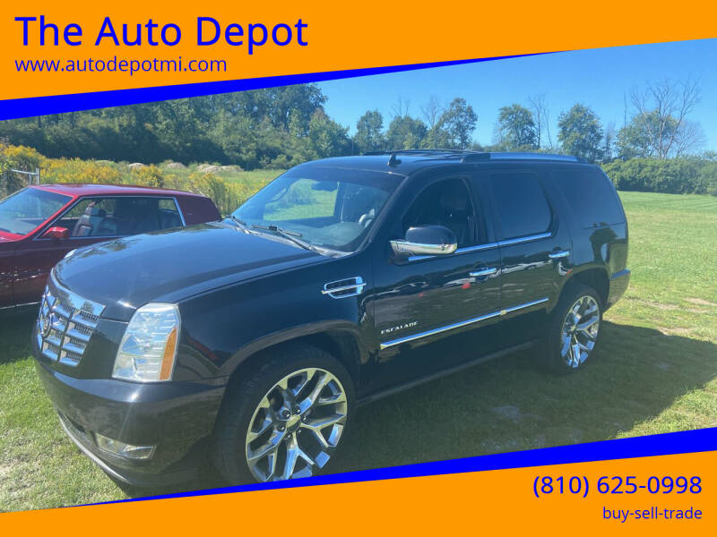 2011 Cadillac Escalade for sale at The Auto Depot in Mount Morris MI
