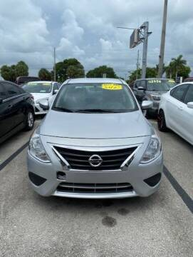 2019 Nissan Versa for sale at DAN'S DEALS ON WHEELS in Davie FL