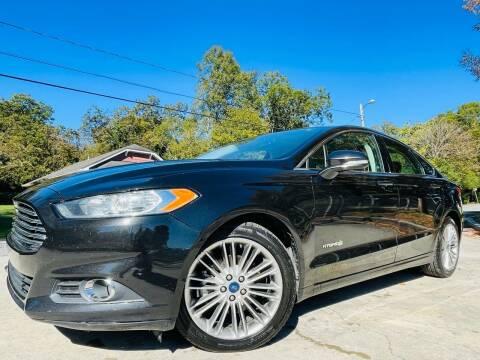 2014 Ford Fusion Hybrid for sale at E-Z Auto Finance in Marietta GA