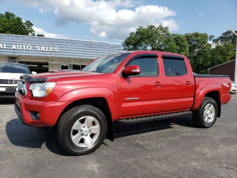 2012 Toyota Tacoma for sale at COLONIAL AUTO SALES in North Lima OH