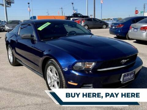 2011 Ford Mustang for sale at Stanley Automotive Finance Enterprise - STANLEY FORD SWEETWATER in Sweetwater TX