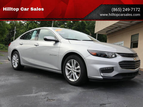 2018 Chevrolet Malibu for sale at Hilltop Car Sales in Knox TN