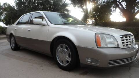 2003 Cadillac DeVille for sale at Exhibit Sport Motors in Houston TX