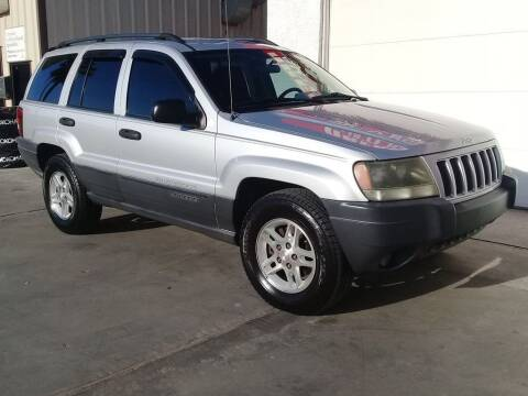 2004 Jeep Grand Cherokee for sale at Dreamline Motors in Coolidge AZ