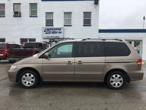 2004 Honda Odyssey for sale at Lightning Auto Sales in Springfield IL