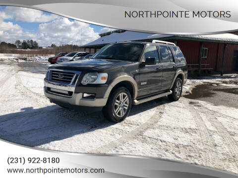 2007 Ford Explorer for sale at Northpointe Motors in Kalkaska MI