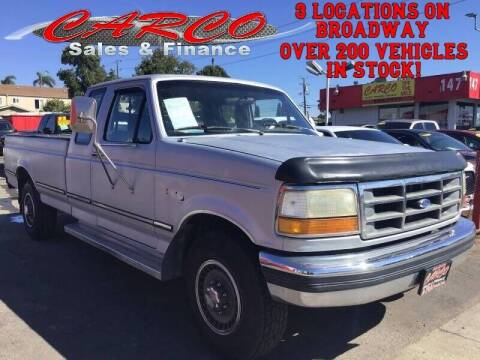 1992 Ford F-250 for sale at CARCO SALES & FINANCE #2 in Chula Vista CA