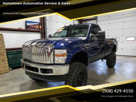 2008 Ford F-250 Super Duty for sale at Hometown Automotive Service & Sales in Holliston MA
