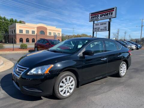 2015 Nissan Sentra for sale at Auto Sports in Hickory NC