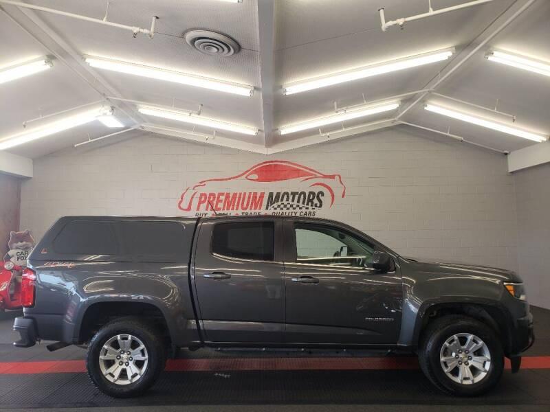2016 Chevrolet Colorado for sale at Premium Motors in Villa Park IL