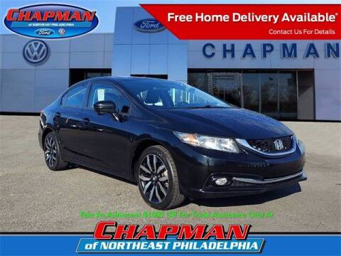 2015 Honda Civic for sale at CHAPMAN FORD NORTHEAST PHILADELPHIA in Philadelphia PA